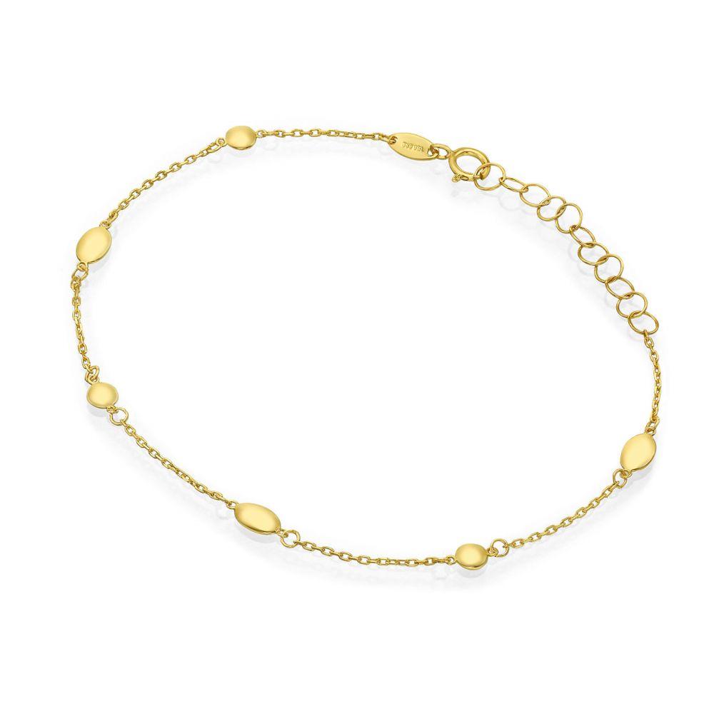 תכשיטי זהב לנשים | צמיד לאישה מזהב צהוב 14 קראט - ולרי
