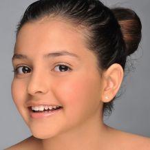 עגילי זהב צמודים -  כוכב הערב