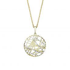 תליון זהב- עיגול צפנת