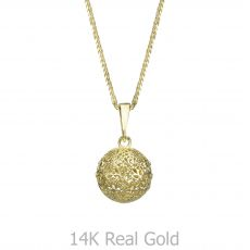 תליון זהב- כדור הזהב