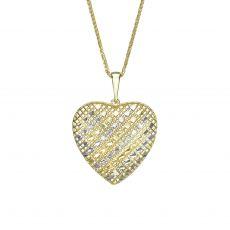 תליון זהב- הלב של בל
