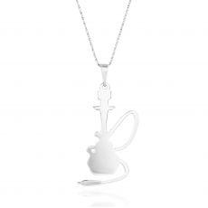 שרשרת זהב 14k לבן - נרגילה