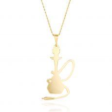 שרשרת זהב  צהוב - נרגילה