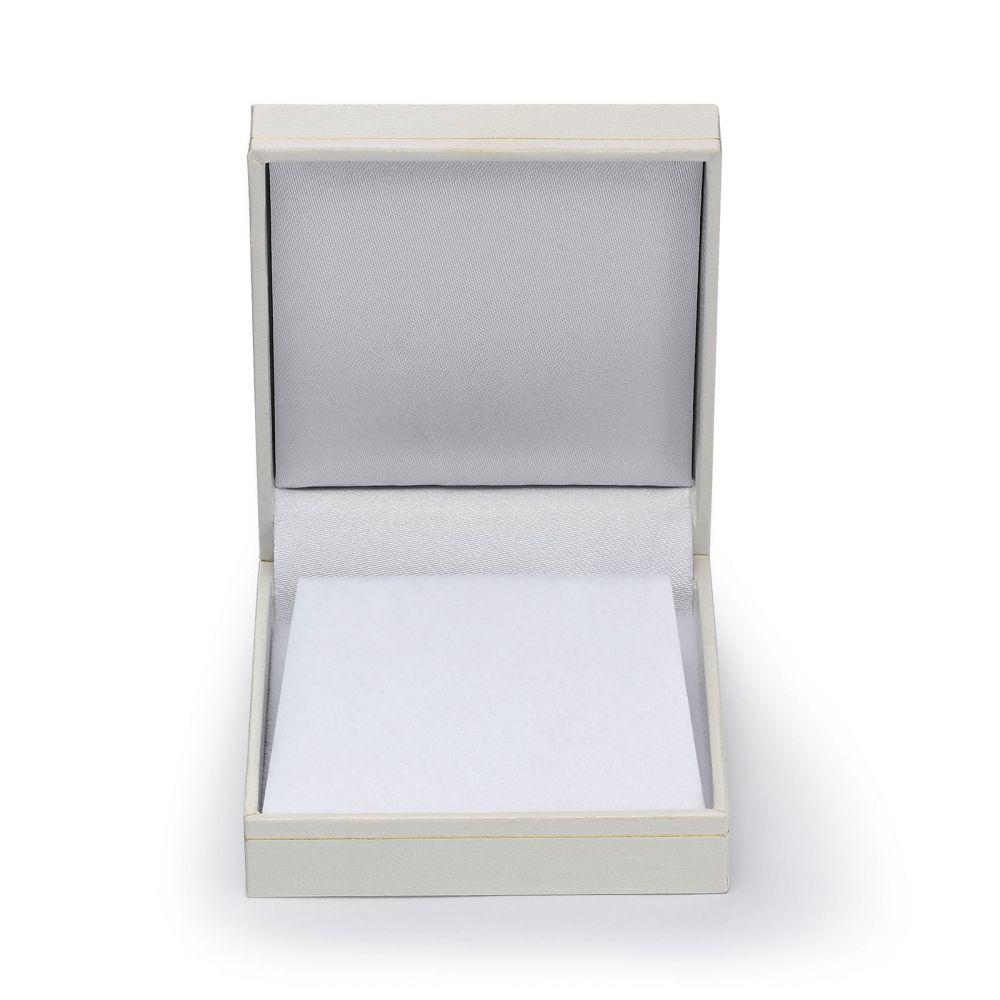 טבעות זהב | טבעת יהלומים ואבן חן ספיר מזהב לבן 14 קראט  - ליברטי מט